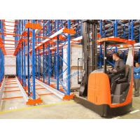 Wholesale Radio Shuttle Racking System High Density Pallet Storage from china suppliers