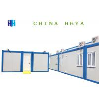 Buy cheap Modular 20ft Sandwich Panel Prefab House , Fully Furnished Steel Container Homes from wholesalers