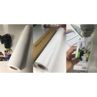 Buy cheap 240gsm Resin Coated 24 Photo Paper Roll , Satin Photo Paper For Large Format Printers from wholesalers