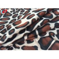 Buy cheap Animal Printed Polyester Velvet Brushed Fabric Knitted Velboa Fabric For Toy from wholesalers