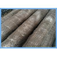 Buy cheap 1/2 Mesh Openning Metal Wire Mesh PVC Coated Galvanized Hexagonal Wire Netting Chicken Mesh from wholesalers