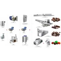 Buy cheap Industrial Chocolate Factory Machine Chocolate Production Line Energy Saving from wholesalers
