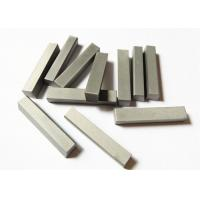 Buy cheap YG6X Custom Tungsten Carbide Parts , Wood Cutting Solid Carbide Knives from wholesalers
