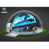 Wholesale 360 Mmersive Projection Dome Movie Theater With 16 4D Cinema Chairs Built On The Playground from china suppliers