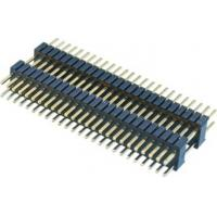 Buy cheap WCON 1.27*2.54mm Pcb Header Connector Double Plastic 180° DIP  PA9T  Brass H=2.54 product