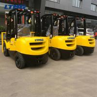 Buy cheap Side Shifter Counterbalance Forklift Truck  Eco - Friendly With Two 3m Stage Mast from wholesalers