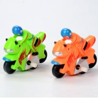 Wholesale 0.05kg Cool Motorcycle Wind Up Toy Orange / Green Color For Little Boy Christmas Gift from china suppliers