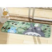 China Polyester Non-Woven Large Living Room Area Rugs with White Flower Pattern on sale