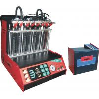 Buy cheap Automotive Engine Carbon Fuel Injector Cleaning Machine , 8 Cylinders Injectors from wholesalers