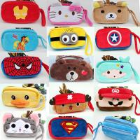 Buy cheap Fashion Cartoon Characters Red and Blue Plush Pencil Pouch Pencil Case For Promotion Gifts from wholesalers