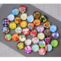 Buy cheap Crystal Glass Decorative Refrigerator Magnets Permanent Type Custom Color from wholesalers