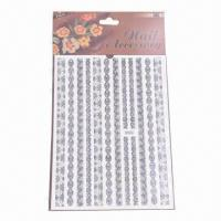 Buy cheap Water-transfer Nail Decals, Nail Tattoo, Safe and Nontoxic Materials from wholesalers