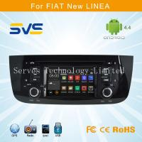 Buy cheap Android 4.4 car dvd player with GPS for FIAT LINEA / PUNTO 4.3 inch with Ipod car stereo from wholesalers