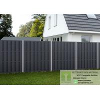 Buy cheap Waterproof Building Material PVC Wall Paneling WPC Fence Outdoor from wholesalers