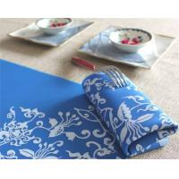 Wholesale Blue color silicone desk placemats desk mat from china suppliers