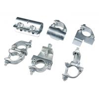 Buy cheap Galvanized Scaffolding Steel Pipe Clamps Couplers Industrial Plant Construction from wholesalers