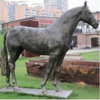 Wholesale Copper/Bronze Horse Statue , Customized Materials are Accepted, User-defined Size from china suppliers