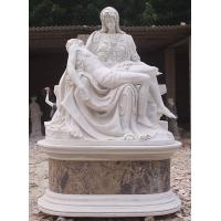 Buy cheap Mary Holding Jesus Marble Sculpture from wholesalers