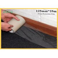Buy cheap 125mm Width Floor Protection Film Anti Dirt Against Wall Painting from wholesalers