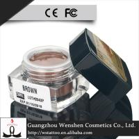 Buy cheap Cream Pure Plant Semi Permanent Makeup Pigments / Light Brown Tattoo Pigment from wholesalers