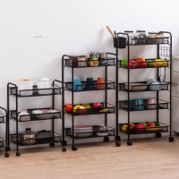 Buy cheap H77cm Five Tier Metal Trolley Cart For Bathroom from wholesalers