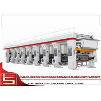 8 Color Flexo Printing Machine with Closed - loop tension control Manufactures