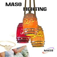 Buy cheap MASO Latest Bar decorative pendant lamp for indoor lighting installation E27 base from wholesalers