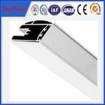 Buy cheap aluminum shower screen profile manufacturer, polishing aluminium profiles shower enclosure from wholesalers