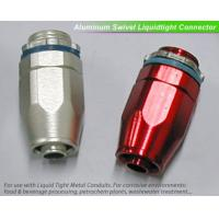 China swivel metal liquid tight connector for flexible conduit on sale