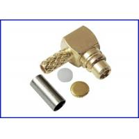 Buy cheap Mmcx connector male bent crimping RF coaxial cable from wholesalers