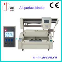 Buy cheap A4 desktop glue binding machine DC-30+ perfect binder machine with LCD from wholesalers