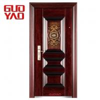 Buy cheap High quality hot sale new designs main entrance front single entry steel security door from wholesalers