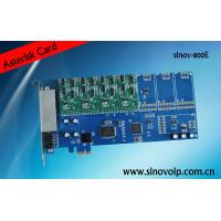 Wholesale 8 port fxo fxo asterisk analog pci express card from china suppliers