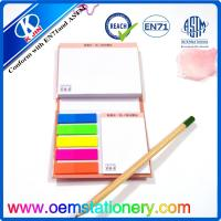 Buy cheap Hardcover Memo Sticky Notes Color Sticky Note Pads Fluorescence Sticky Note for Gift from wholesalers
