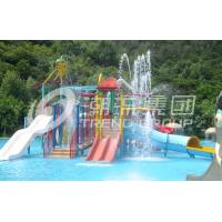 Buy cheap Customized Indoor / Outdoor Aqua Park Equipment Kids Water House For Family Interaction from wholesalers