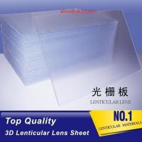 Buy cheap Rigid line lenticular sheet 20LPI material 3mm Thickness Plastic Lenticular product