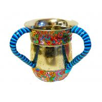 Buy cheap Custom Religious Judaica Judaism Israel Jewish Hand Washing Cup Two handled Cup Ritual washing in Judaism from wholesalers