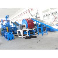 Wholesale Waste Tire Shredding Machine / Crumb Rubber Machinery Harden Gears Gearbox from china suppliers