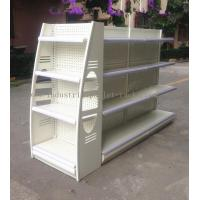 Buy cheap Multi Colors Retail Display Stands Height 53 / 61 / 69 / 77 Metal Material Storage Racks from wholesalers