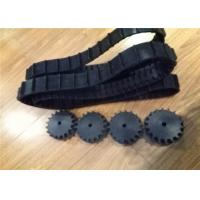Buy cheap 50mm Width X 1026mm Length  Black New Condition Rubber Track for Robot from wholesalers
