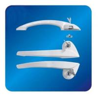 Buy cheap Custom Arc ABS Freezer Door Handle Hardware for cooler with Lock 260mm from wholesalers