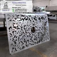 Buy cheap SUDALU Aluminum Perforated Panel Building Decoration Customized Aluminum Laser Cutting Panel from wholesalers