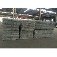 Buy cheap Hexagonal Gabion Wire Mesh Baskets / Gabion Retaining Wall Corrosion Resistant from wholesalers