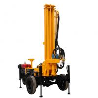 Buy cheap High Efficiency Water Well Drilling Rig Machine Diesel Power Type Srqz180d/200d from wholesalers