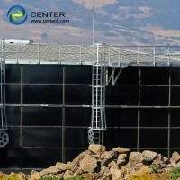 Buy cheap Vitrum Process Liquid Storage Tanks With Economic Aluminum Dome Roof from wholesalers