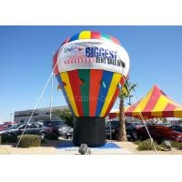 Custom Printed Inflatable Advertising Balloons Large Waterproof With Banners