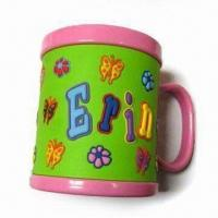 Wholesale Promotional Soft PVC Mug with 258mm Circumference and 9oz Mug Capacity from china suppliers