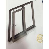 Buy cheap Thermal Break Tilt and Sliding Aluminium Window Profiles with Brown Color from wholesalers