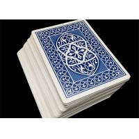 Wholesale OEM Printable Plastic Playing Cards Club Use Matte Coat Varnishing Color Offset Printing from china suppliers