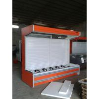 Buy cheap Fruit And Vegetable Multideck Open Chiller 3m Orange Color Remote Cooling System from wholesalers